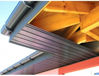 Подшивка крыши