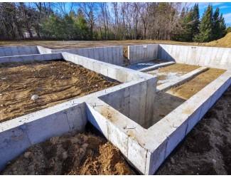 Монолитные работы, строительство фундаментов