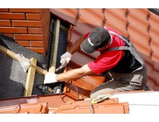 Техника безопасности при строительстве крыши частного дома
