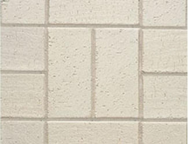 Тротуарный клинкер (брусчатка) Roben SCHWABING, кремовый белый