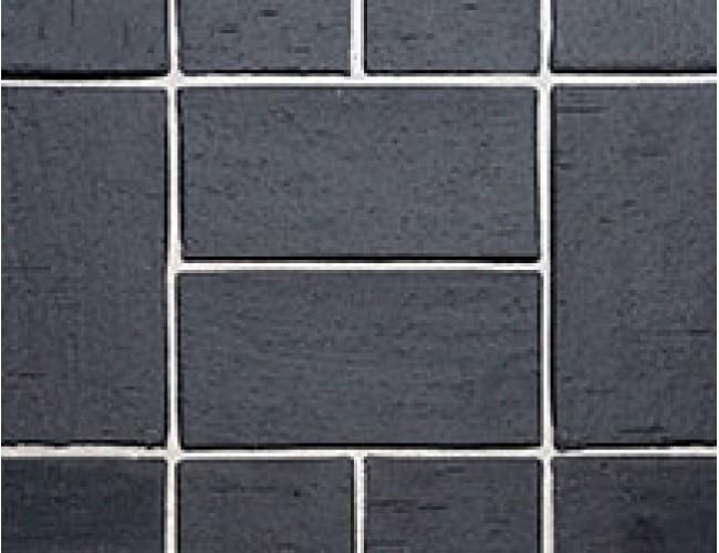 Тротуарный клинкер (брусчатка) Roben SCHWABING, черный с оттенком