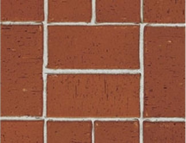 Тротуарный клинкер (брусчатка) Roben SEMPIONE, красно-коричневый