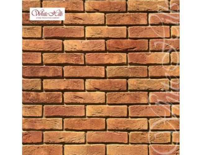Декоративная плитка под кирпич White Hills, Лондон Брик 300-60
