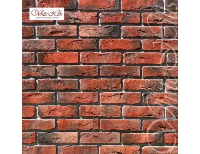 Декоративная плитка под кирпич White Hills, Лондон Брик 300-70