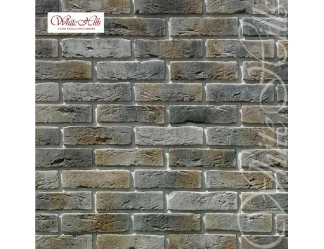 Декоративная плитка под кирпич White Hills, Лондон Брик 300-80