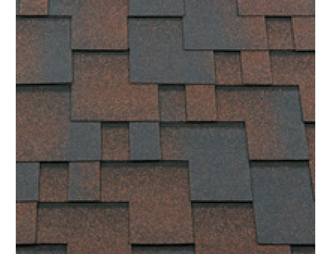 Гибкая черепица Roofshield Classic Modern, медный