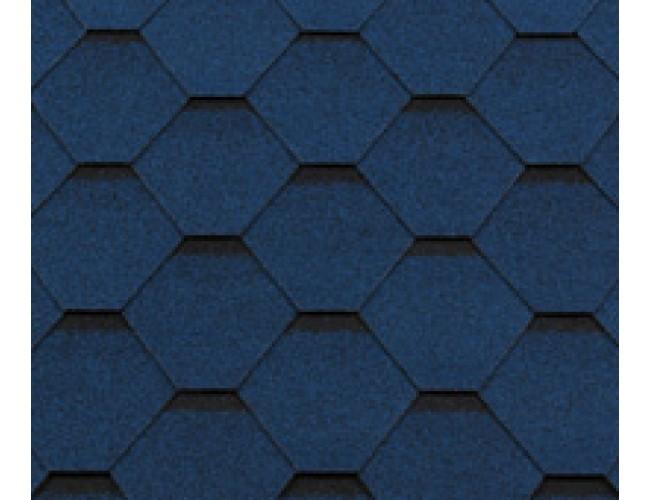 Гибкая черепица Roofshield Classic Standart, синий