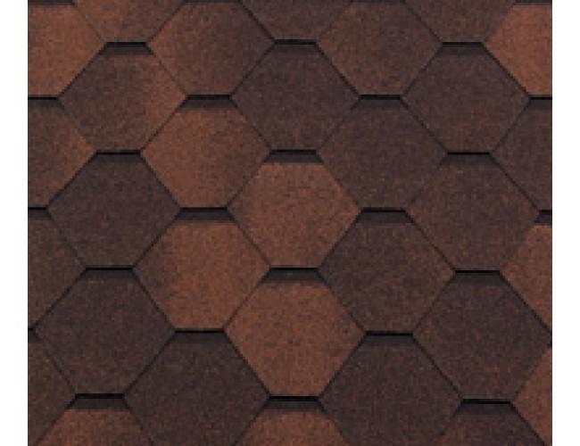 Гибкая черепица Roofshield Classic Standart, Капучино