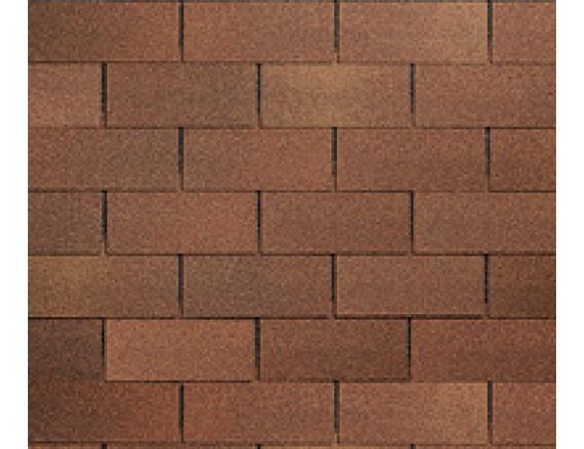 Гибкая черепица Roofshield Family Lite American, коричневый