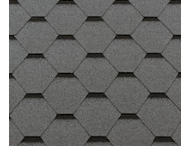 Гибкая черепица Roofshield Premium Standart, серый