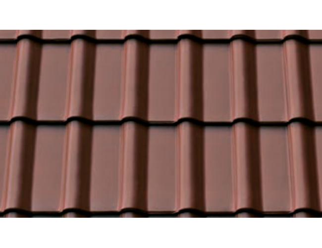 Керамическая черепица ABC Modena 11, орехово-коричневый