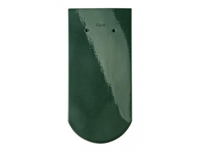 Керамическая черепица BRAАS Опал, зеленая ель