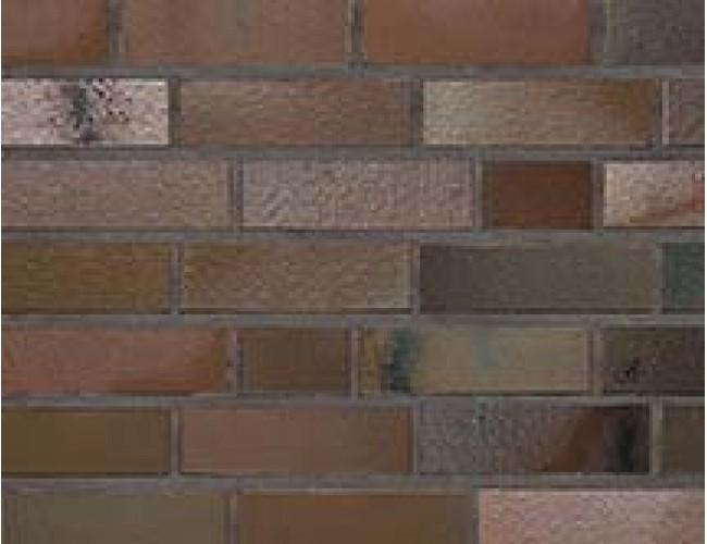 Клинкерный кирпич Roben ACCUM сине-коричневый пестрый