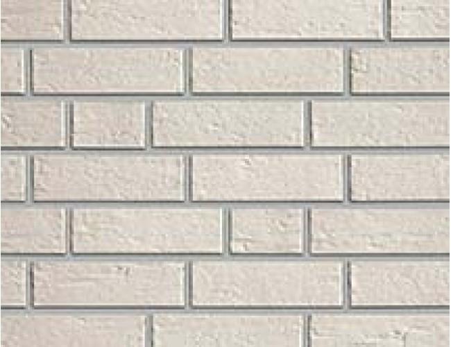 Керамический клинкерный кирпич Roben MALMoe белый перламутровый