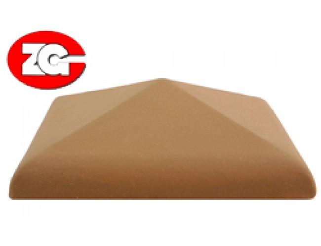 Клинкерный колпак для столба ZG Klinker, красный