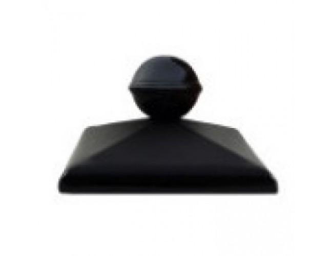 Клинкерный колпак для столба ZG Klinker, С42 с шаром