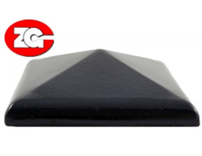 Клинкерный колпак для столба ZG Klinker, темно-коричневый
