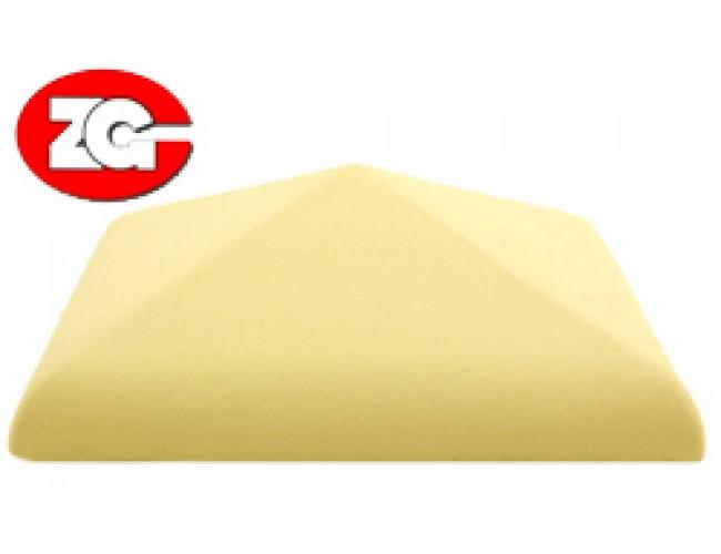 Клинкерный колпак для столба ZG Klinker, желтый