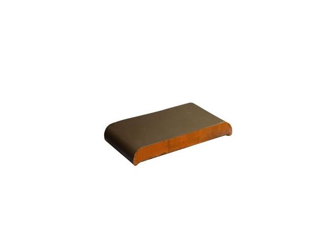 Парапетная клинкерная плитка ZG Klinker, КР20 коричневый