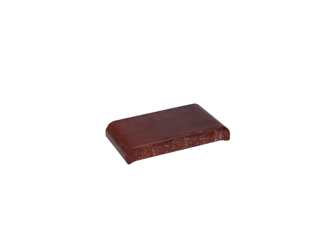 Парапетная клинкерная плитка ZG Klinker, КР20 вишневый