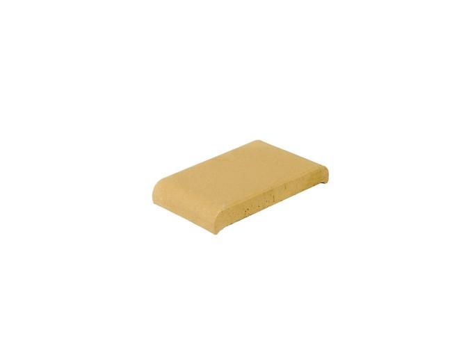 Парапетная клинкерная плитка ZG Klinker, КР20 желтый