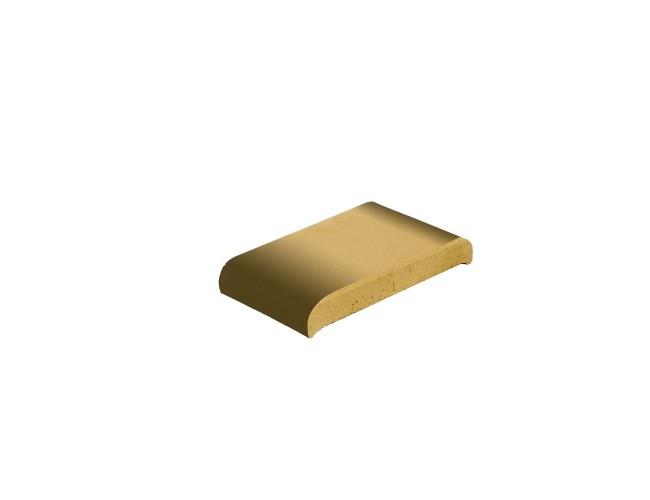 Парапетная клинкерная плитка ZG Klinker, КР20 желтый тушевой