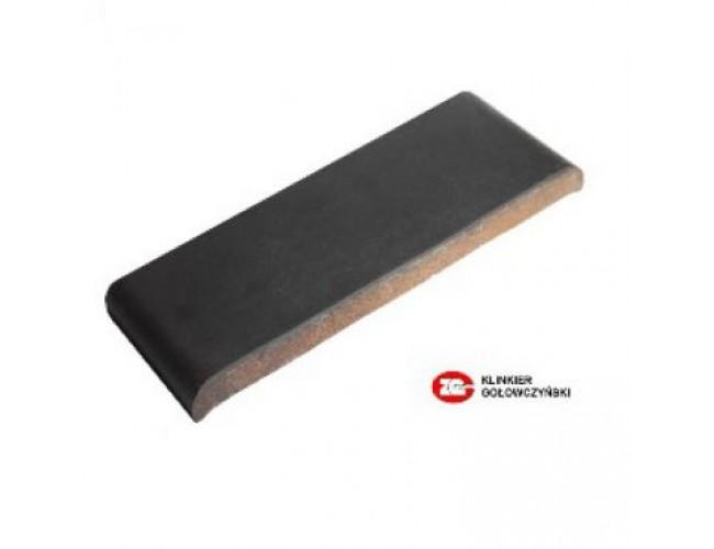 Парапетная клинкерная плитка ZG Klinker, КР30 графит