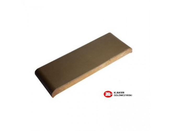 Парапетная клинкерная плитка ZG Klinker, КР30 коричневый