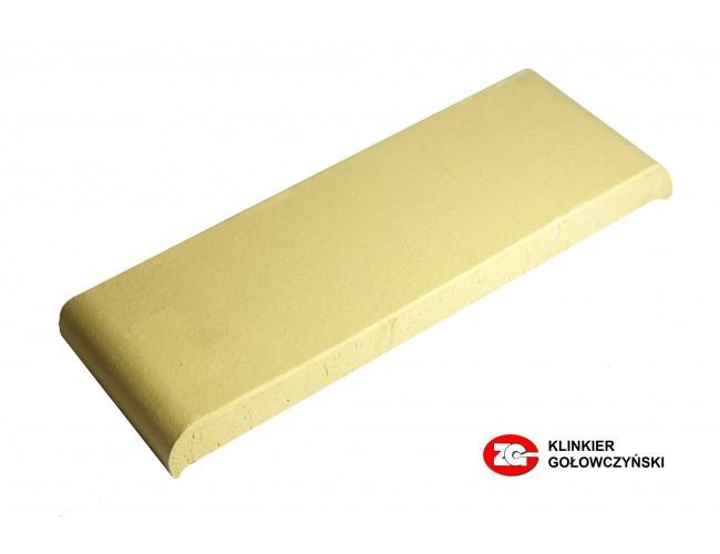 Парапетная клинкерная плитка ZG Klinker, КР30 желтый
