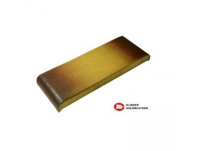 Парапетная клинкерная плитка ZG Klinker, КР30 желтый тушевой