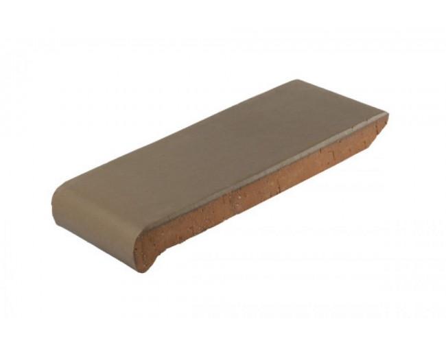 Клинкерный подоконник ZG Klinker, ОК23 коричневый