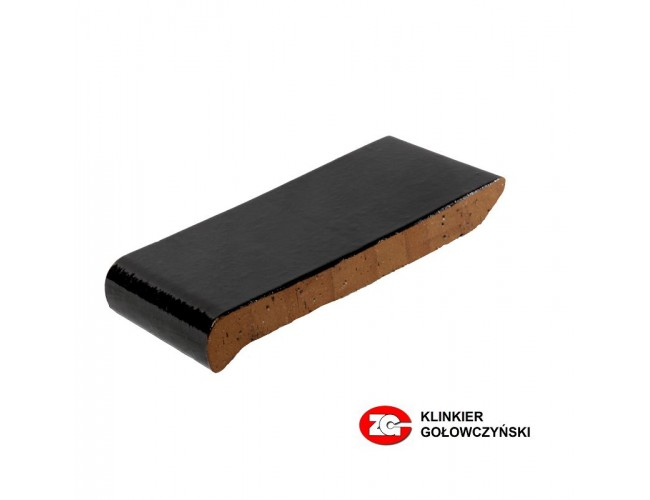 Клинкерный подоконник ZG Klinker, ОК28 темно-коричневый