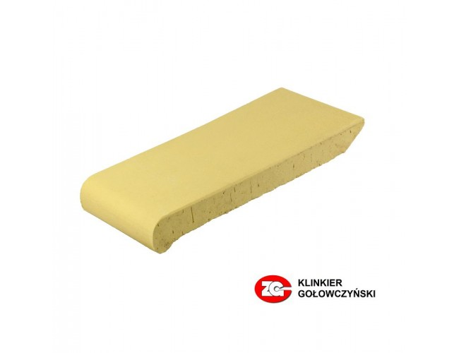 Клинкерный подоконник ZG Klinker, ОК28 желтый