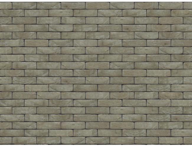 Клинкерная плитка под кирпич ручной формовки Nelissen, GRIJS GESMOORD