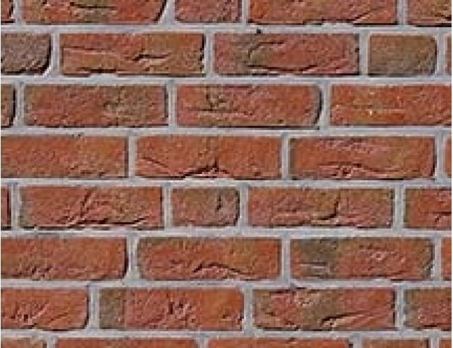 Клинкерная плитка под кирпич ручной формовки Roben FEHNBRAND hellrot-bunt, светло-красный пестрый