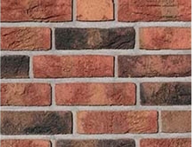 Клинкерная плитка под кирпич ручной формовки Roben FORMBACK graphit-bunt, графитово-пестрый