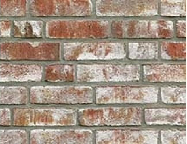 Клинкерная плитка под кирпич ручной формовки Roben GEESTBRAND bunt-weiss, белый пестрый