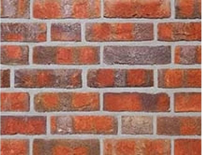 Клинкерная плитка под кирпич ручной формовки Roben WASSERSTRICH buntgeflammt, пестрый огненный