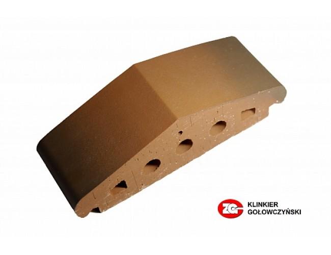 Профильный клинкерный кирпич ZG Klinker К25, дуб