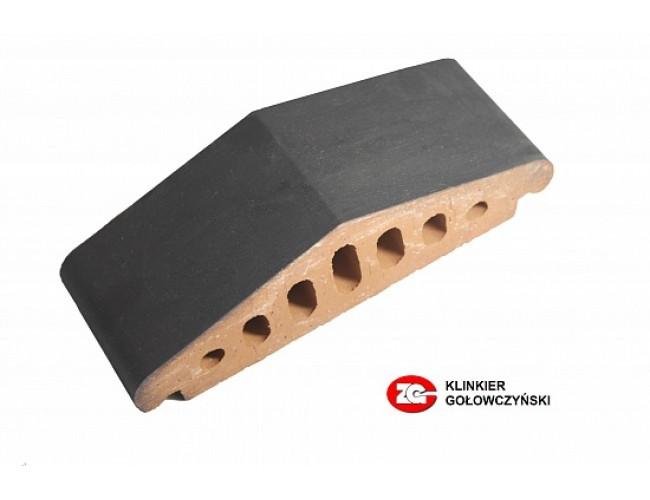 Профильный клинкерный кирпич ZG Klinker К25, графит