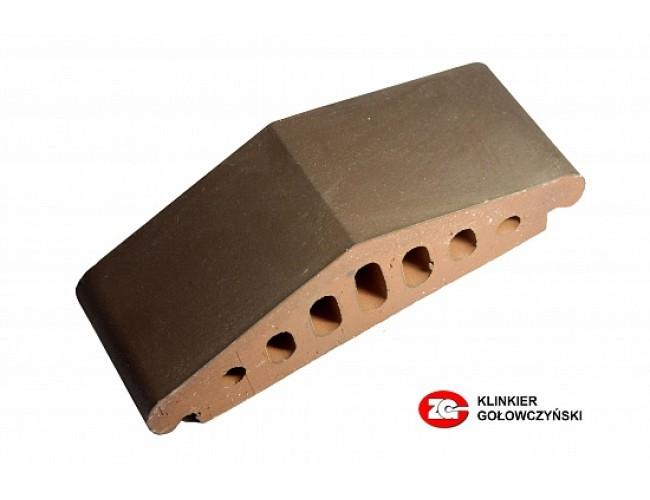 Профильный клинкерный кирпич ZG Klinker К25, коричневый