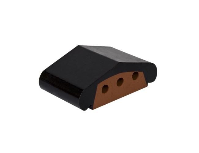 Профильный клинкерный кирпич ZG Klinker К12, темно-коричневый