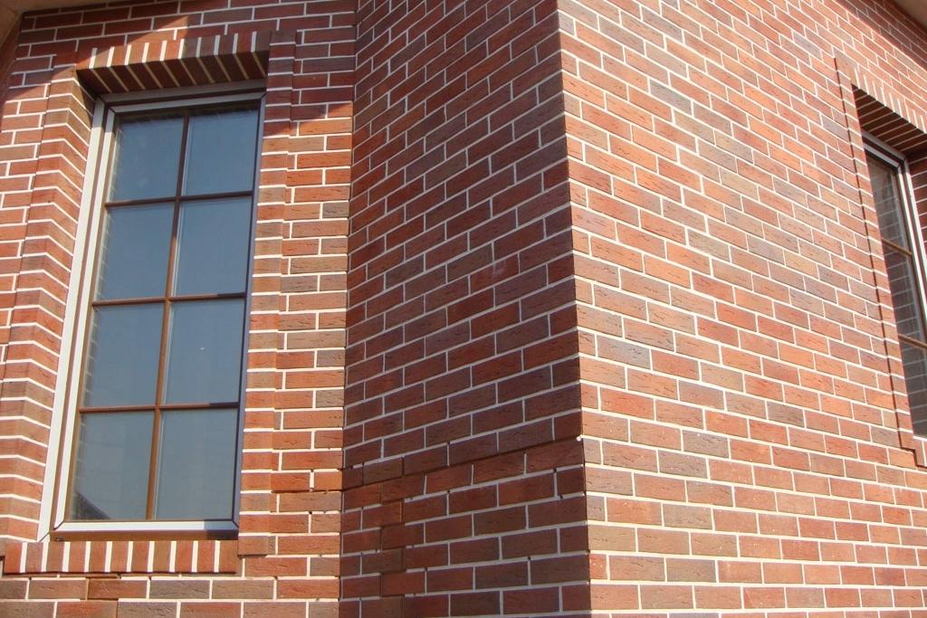 Виды клинкерного кирпича для фасадов